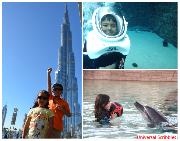 Dubai family friendly travel destination