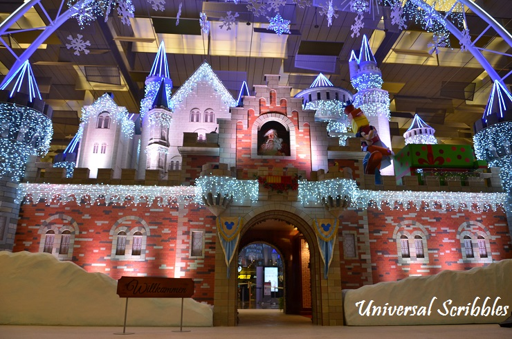 Changi Airport Disney Christmas