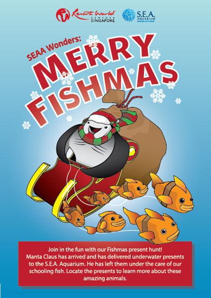 Merry Fishmas Resorts World Singapore