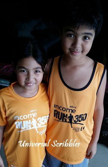 NTUC Run Racepack