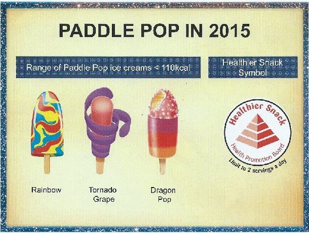 Paddle Pop Ice Cream