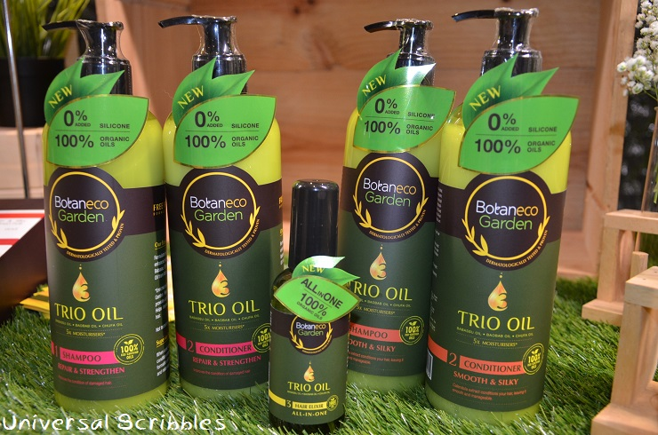 New: Trio Oil Hair & Body Collection